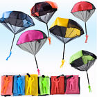 6PCS Parachute Toys Outdoor Tangle Free Throwing Flying Parachute Toy for Kids