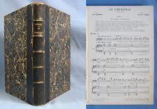 """Partition reliée de """"Le CHEMINEAU"""", Drame Lyrique de Xav. Leroux / Choudens 1907"""