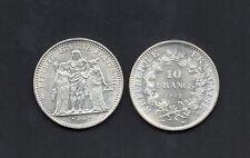 FRANCE Monnaie de 10 francs 1972 ARGENT au Type HERCULE qualité SUP+