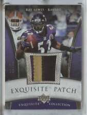 2006 Exquisite Patch Silver #EP-RL Ray Lewis MEM /50