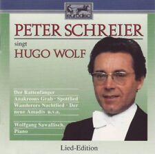 Peter Schreier singt Hugo Wolf - CD -