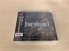 Front Mission 3 III Brand New Factory Sealed PlayStation PS1 Japan Import