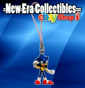 """Sega Sonic The Hedgehog Dangler Tails 2"""" Inch Figurine with Phone Strap Tomy"""
