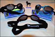 Dog Goggles Sunglasses Eye 100% UV Eye Protection Pet USA SELLER Choose Color