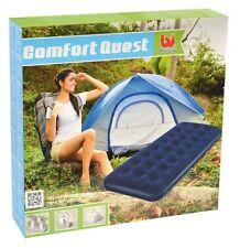 Beflockte Luftmatratze Luftbett Komfortables Reisebett aufblasbare Luft Matratze