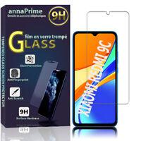 1 Folie Hartglas Schutz Bildschirm Xiaomi Redmi 9C/ 9C NFC/ Redmi 9 (India)