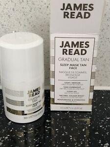 James Read Gradual Tan Light Medium Sleep Mask Face 50ml🌟Brand new🌟