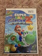 Super Mario Galaxy 2 Nintendo Wii VGC