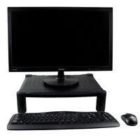 PC Monitor TV Riser Stand Single Height Adjustable Small Desktop Computer Screen
