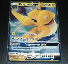 Dragonite GX 37/70 SM Dragon Majesty Set HOLO RARE Pokemon Card NEAR MINT