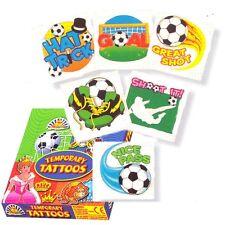 12 Football,soccer, Tattoos  Transfers Boys Birthday Party Loot Bag Fillers