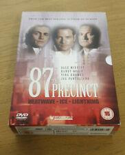 87th Precinct - Heatwave / Ice / Lightning (DVD, 2004, 3-Disc Set, Box Set)