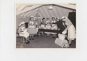 UK RED CROSS NURSING PHOTOGRAPH + CERTIFICATE 1956