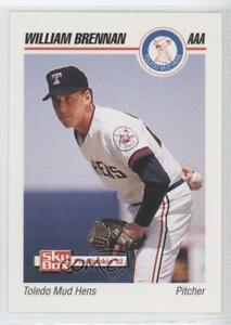 1992 SkyBox Pre-Rookie Toledo Mud Hens William Brennan #577