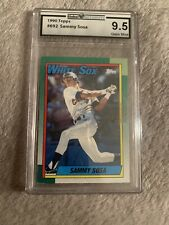 1990 Topps Sammy Sosa Chicago White Sox #692 Baseball Card
