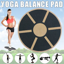 Professional Balance Board Wooden Fitness Wobble Yoga Pilate Support Max 250KG