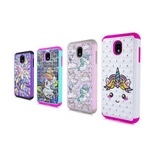 For Samsung Galaxy 2018 J3 Sparking Diamond TPU Silicone Rubber Case Free Gift