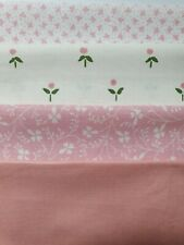 Laura Ashley Plum Vintage 1980's Fabric Perfect Curtains Craft Cushion Patchwork