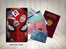 spiderman far from home 02 protège carte grise permis passeport passport cover