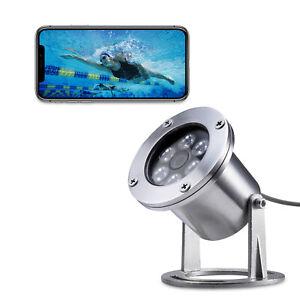 Underwater Fishing waterproof Camera 304 Stainless Steel 1440P 4MP POE IP