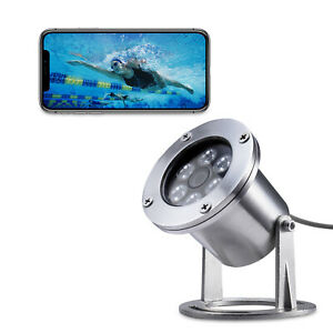 1440P 4MP POE IP Underwater Fishing waterproof Camera