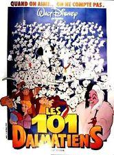Affiche 120x160cm LES 101 DALMATIENS 1961 Clyde Geronimi, Walt Disney R1987