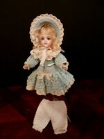 "3 Piece Crochet Outfit For About 7-8"" doll"