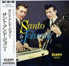 SANTO & JOHNNY-S/T-JAPAN MINI LP CD BONUS TRACK C94