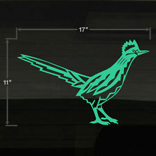 "Roadrunner Road Runners Nuevo Mexico Bird LG 17x11"" Vinal Decal Sticker Graffix"