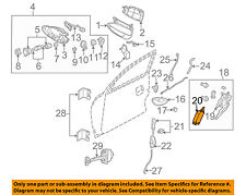 Pontiac GM OEM 04-06 GTO Door-Lock Actuator Motor 90493702