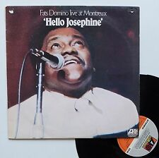 "Vinyle 33T Fats Domino  ""Hello Josephine - Live at Montreux"""