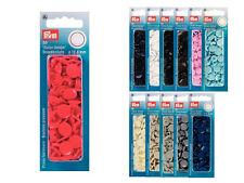 Bottoni a pressione in plastica automatici di vari colori 30 pz