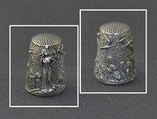 GRIMM'S FAIRY TALES PEWTER FRANKLIN MINT THIMBLE # 11
