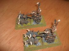 Warhammer Fantasy Chaos Beastmen Metal Chariots (2) Painted