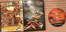 Rise of the Kasai PS2 (Sony PlayStation 2, 2005) Black Label CIB