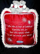 Me To You Christmas Tatty Bear Decorative Christmas Pillow Carte Blanche  2001