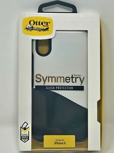 OtterBox Hepburn Dip Symmetry Series Case for Apple iPhone X/XS Black White