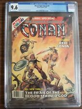 Marvel Super Special #9 1978, Savage Sword of Conan Red Sonja CGC 9.6 NM+