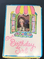 Vintage Bradley Our Birthday Girl Doll of the Month February 5� tall in Box