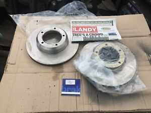 LAND ROVER DISCOVERY DEFENDER RR CLASSIC FRONT VENTED BRAKE DISCS FTC902 N/S/S.