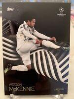 2020-21 Topps UEFA WESTON MCKENNIE UCL USMNT KNOCKOUT SET CARD 38 PR: 9072