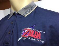 Legend of Zelda Ocarina Of Time Nintendo Polo Golf Shirt Ladies Size XL Promo