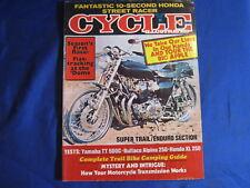 CYCLE ILLUSTRATED MAGAZINE-MAY 1976-BULTACO ALPINA 250-YAMAHA TT500-HONDA XL250