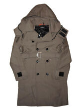 DIESEL W-SEEDS TRENCH COAT SIZE S 100% AUTHENTIC