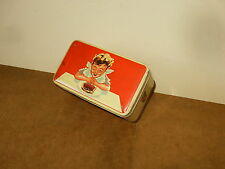 Superbe ancienne boite publicitaire en tôle - G.F.S. ( GFS ) - années 50's