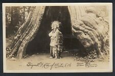 Vintage Canada, British Columbia, Vancouver, Native, Real Photo Postcard