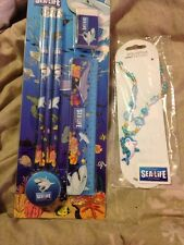 Sea Life Necklace & Stationary Set Free Post (l)
