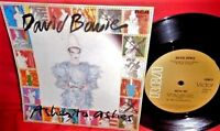 "DAVID BOWIE Ashes to ashes/Move on 7"" 45rpm PS 1980 AUSTRALIA MINT-"