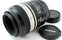 Exc+5 Nikon Micro Nikkor AF 105mm f2.8 D Lens Dental Specification Squeeze Japan