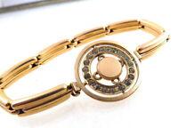 Vintage Art Deco Gold Filled Paste Bracelet Expansion